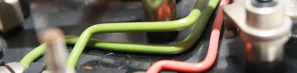 grüne Kabel