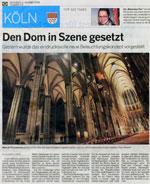 Kölnische Rundschau vom 08.10.2008